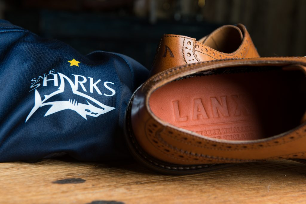 95e46bb6fda The Whalley-based company will provide bespoke Sale Sharks footwear for  staff and players at the club